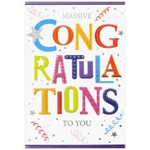 Special Occasion 22476 Congratulations