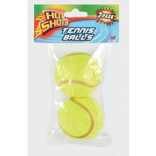 Hot Shots Tennis Balls Pack of 2