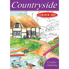 Colour Art Colouring Book Countryside