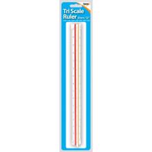 Tri Scale Ruler 30cm