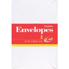 Envelopes Excelsior White 16s