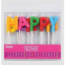 Culpitt Happy Birthday Pick Candles