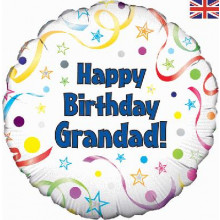 Birthday Grandad Foil Balloon 18""