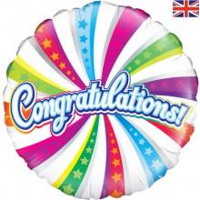 """Congratulations Foil Balloon 18"""""""