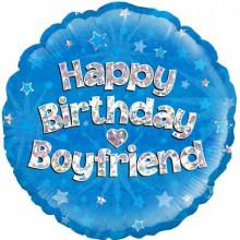 """Birthday Boyfriend Foil Balloon 18"""""""