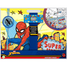 Spider Man Artist Pad - Contains, Stickers, Posters and Crayons