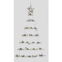 XD04201 Hanging Tree Shape Dec ConesStar