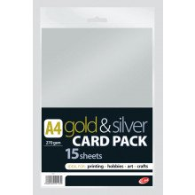 Gold/Silver Card A4 270g 15Sht