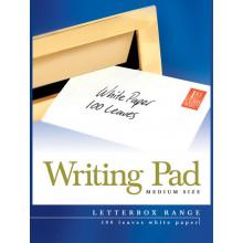 Pads Letterbox Medium White 100sht