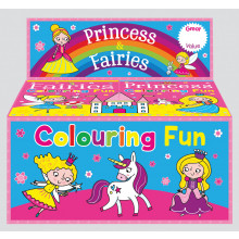 Colouring Fun Books Princess & Fairies