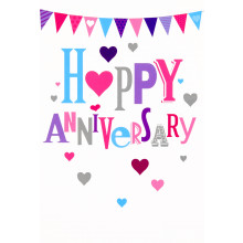 Cards Word Play 23949 Your Anniversary
