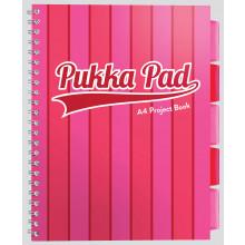 A4 Vogue Pink/Blue Pukka Project Book Asst - 200 pages