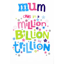 Cards Word Play 24149 Mum in a Million