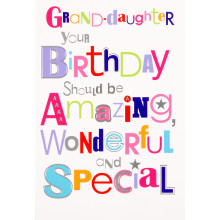 Cards Word Play 24152 Grand Daughter
