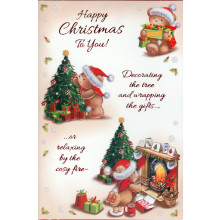 Nannie Cute 50 Christmas Cards