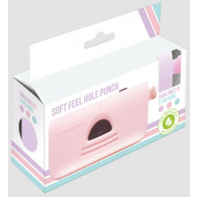 Soft Feel Hole Punch Pastel Asst