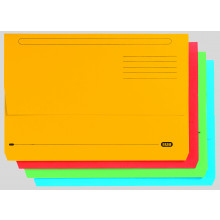 Foolscap Bright Document Wallets Asstd