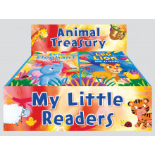 My Little Reader Books Animal Treasury - 2 Assorted
