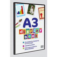 A3 Display Books 20 Pockets