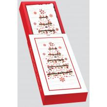XD00501 Slim O'Christmas Tree Xmas Cards