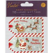 XD02502 Gift Tags Saint Nicholas 10 Pack
