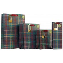 XD02115 Gift Bag Tartan Medium