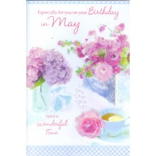Month Cards 24962 May Birthday