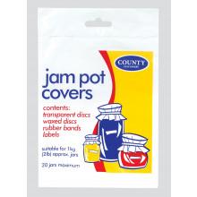 Jam Pot Covers 2lb 20 Jars