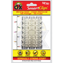XD03511 Cable Clips 20 Clips + 24 Strips