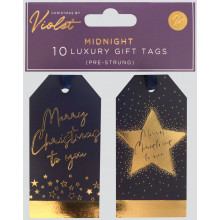 XD02302 Gift Tags Midnight 10 Pack