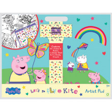 Peppa Pig Artist Pad - Contains Posters, Stickers & Crayons