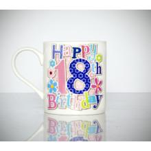Milestone Mug 18th Female