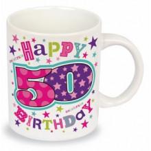 Milestone Mug 50th Female