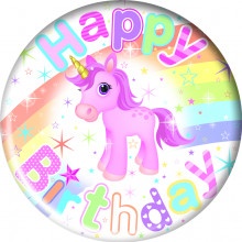 Magical Birthday 55mm Small Badges