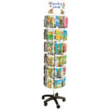Country Cards 48pkt Spinner Stand Empty