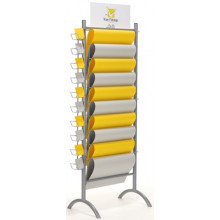 Gift Wrap & Tags Display Stand (Empty)