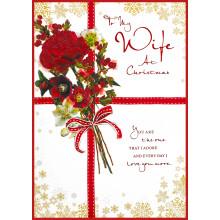 Mum Trad 90 Christmas Cards