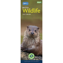 DD01102 Slim Calendar RSPCA Wildlife