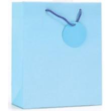 Gift Bag Pale Blue Bottle