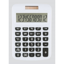 Compact Desk Calculator Dual Power Asstd