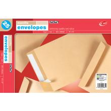 "Envelopes Peel & Seal Manilla 381 x 254mm (15""x10"") 25's"