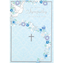 S13447 Cards Sympathy