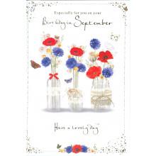 Month Cards 25627-1 September Birthday