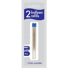 Blue Ballpen Refills 2s