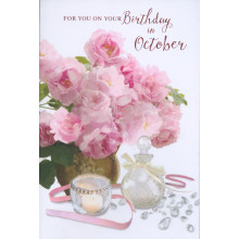 Month Cards 25653-1 October Birthday
