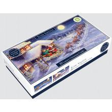 XD00905 20 Slim Trad Santa Xmas Cards