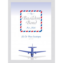 Envelopes Basildon Bond Airmail C6 Blue