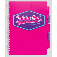 Pink A4 Vision Project Book 200 Pages