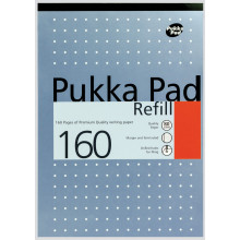 A4 Pukka Metallic Refill Pad F/M - 160 pages