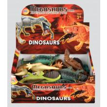 """Megasaurs Small Dinosaurs 15cm/6"""" Asst"""
